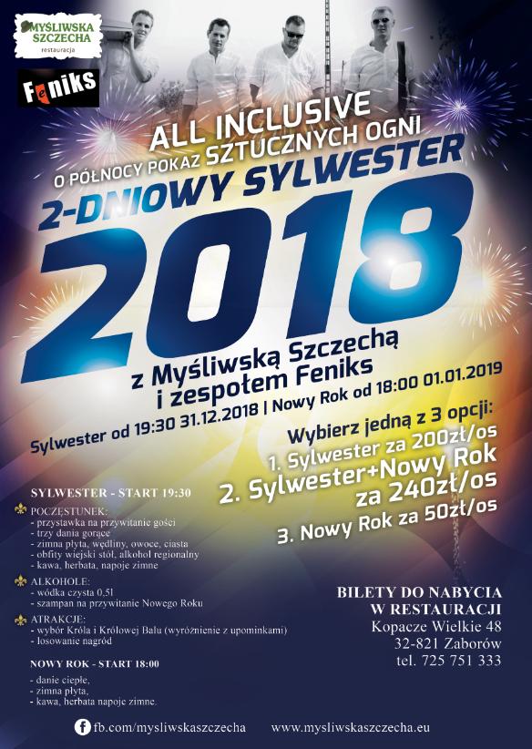 Przywitaj z Myśliwską Szczechą Nowy 2019 rok