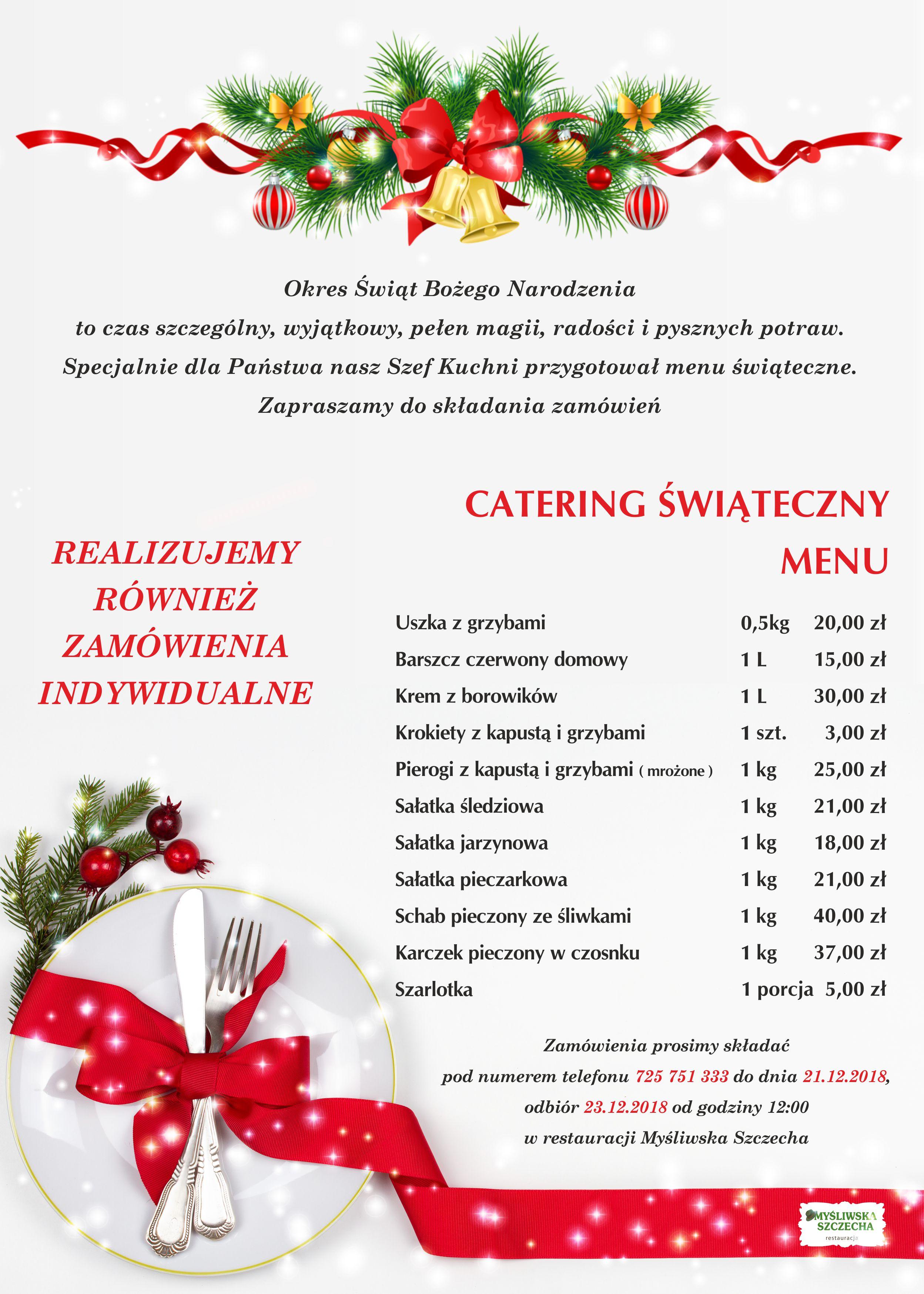 Świąteczny Catering