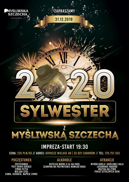 Sylwester z Myśliwską Szczechą!