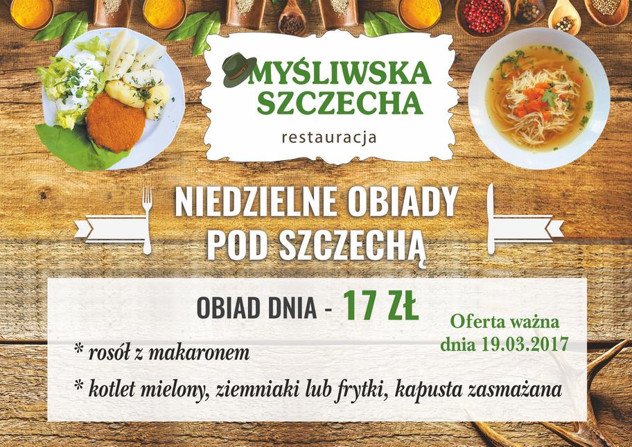Niedzielne Obiady Pod Sczechą !!!